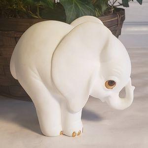 Fine bone china elephant